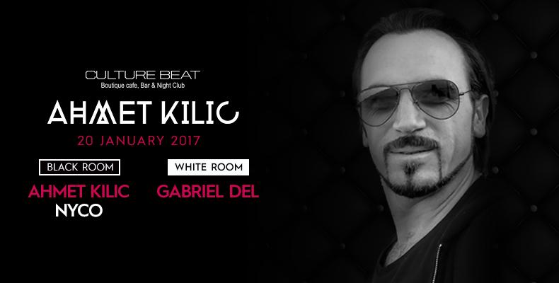 Ahmet Kiliç гост на Culture Beat Club на 20 януари