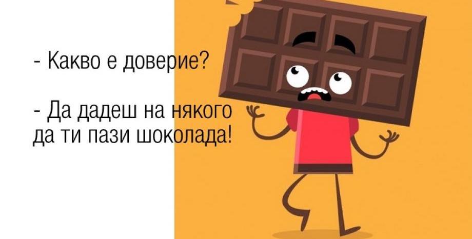 Край с шоколада през 2050г.