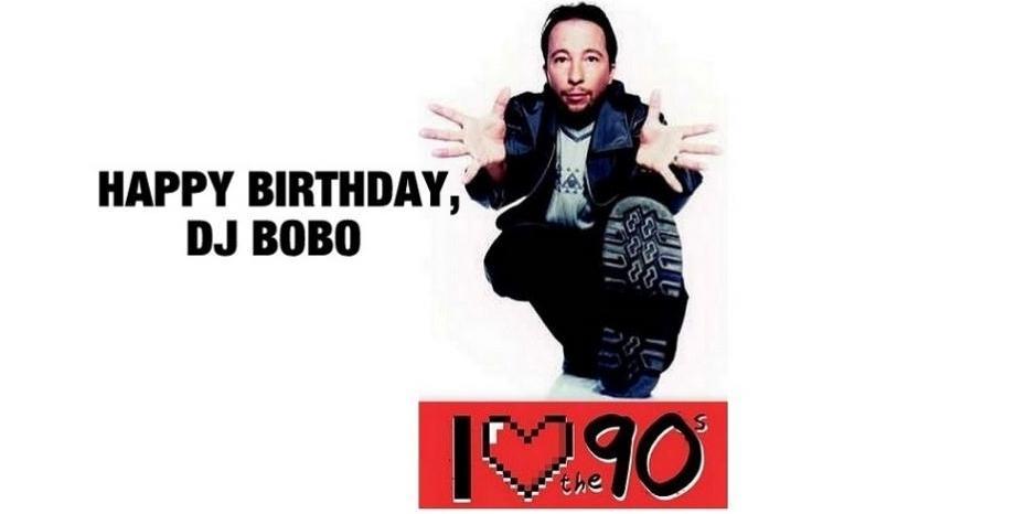 Честит Рожден Ден на DJ Bobo
