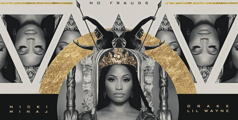 Nicki Minaj представя видеото към новия си сингъл
