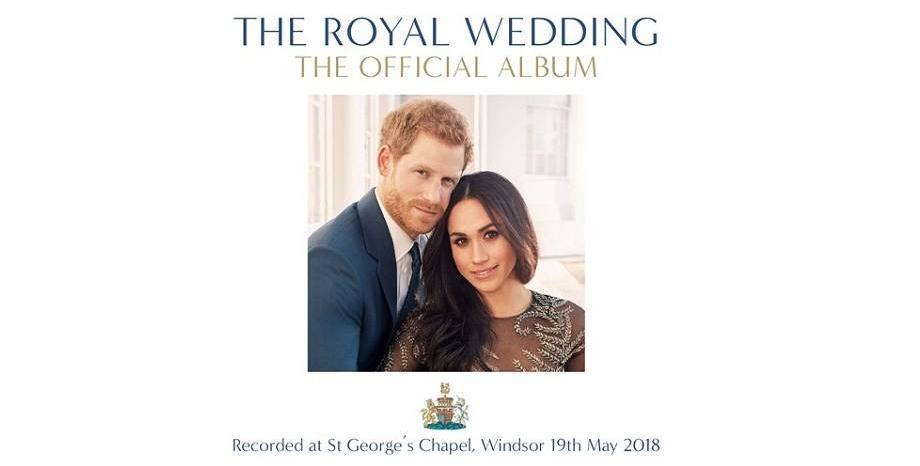 Музиката от сватбената церемония на принц Хари и Меган Маркъл в албум