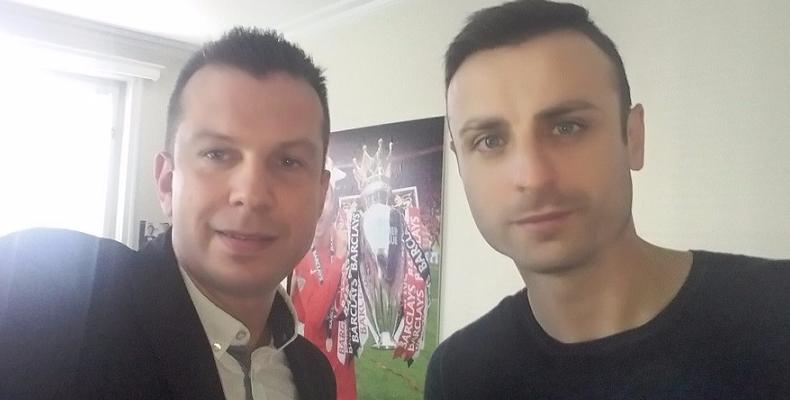 Дни преди мача интервю с Димитър Бербатов по БГ РАДИО!
