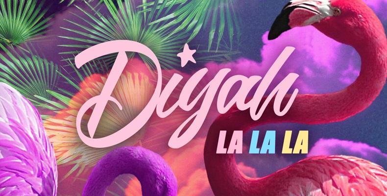 Diyah представя песента си LA LA LA по БГ Радио!