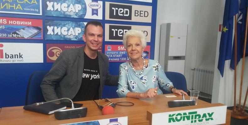 Райна Кабаиванска с ексклузивно интервю по БГ Радио!