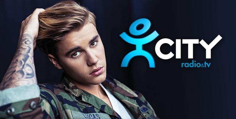 Justin Bieber на живо в Дъблин с радио CITY и CITY TV (видео)