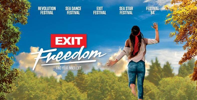 Петте фестивала от EXIT семейството с глобално послание за СВОБОДА през 2018