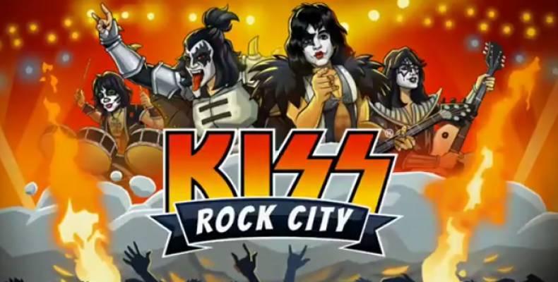 'KISS Rock City' - нова игра за мобилни устройства от рок титаните KISS