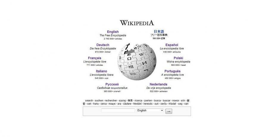 Wikipedia става на 20 години