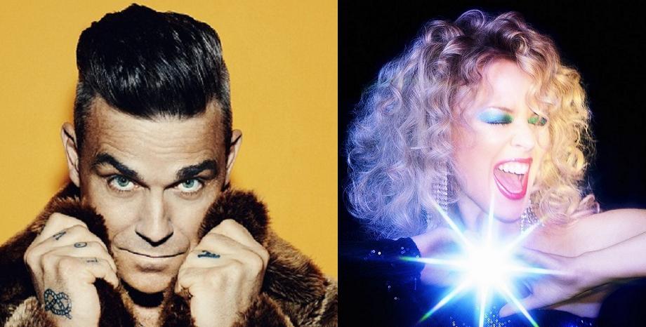 Robbie Williams и Kylie Minogue отново заедно в дует