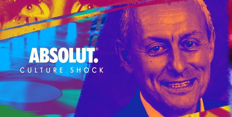 """Соломон Паси поема щафетата в """"Absolut Culture Shock"""""""