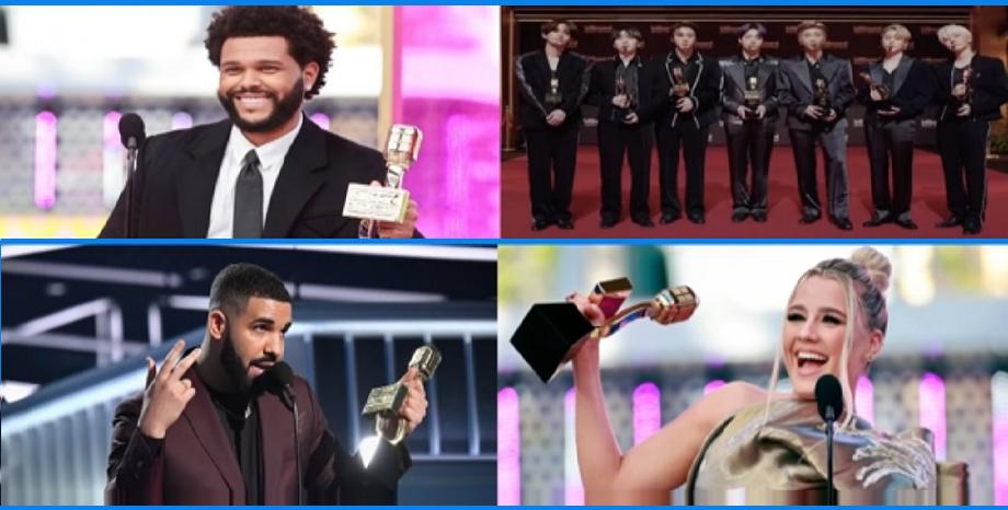 Победителите на наградите Billboard 2021 - The Weeknd с 10 отличия, а Drake е