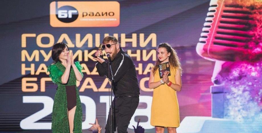 """""""Гълъбо"""" на Миро с три статуетки от церемонията на Годишните Музикални Награди 2018 на БГ Радио!"""