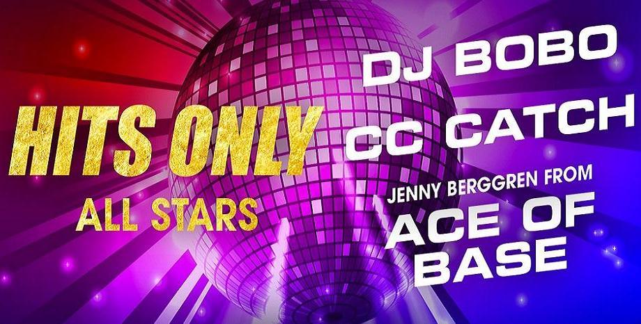 HITS ONLY отново събира звезди в Арена Армеец - DJ BOBO, CC CATCH и Jenny от ACE OF BASE