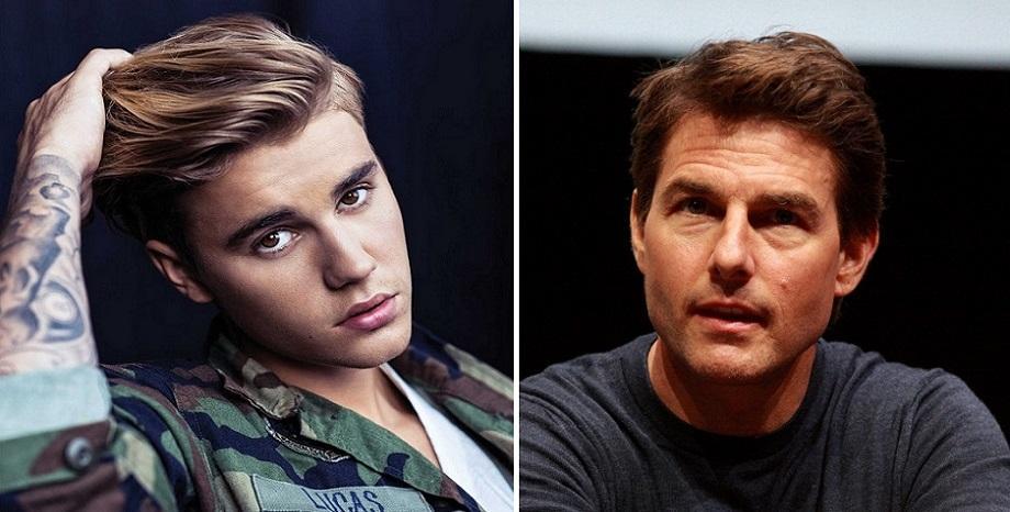 Justin Bieber отправи предизвикателство за бойна схватка към Tom Cruise