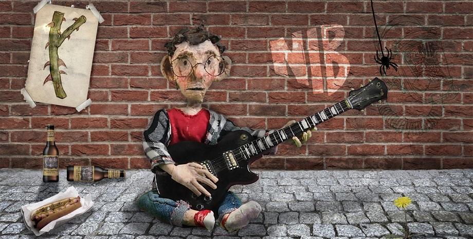 Новият сингъл на Nib: Now in Bulgaria e aнимирана история  за щастието на уличния музикант