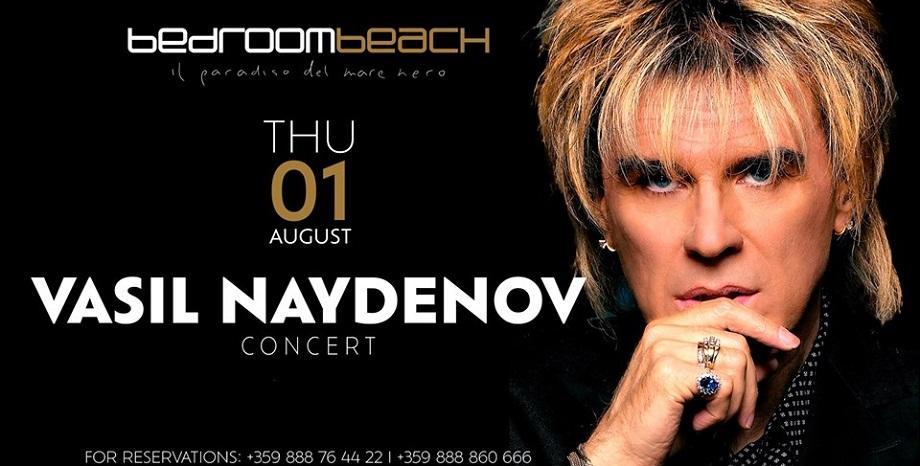 Васил Найденов се завръща в Bedroom Beach