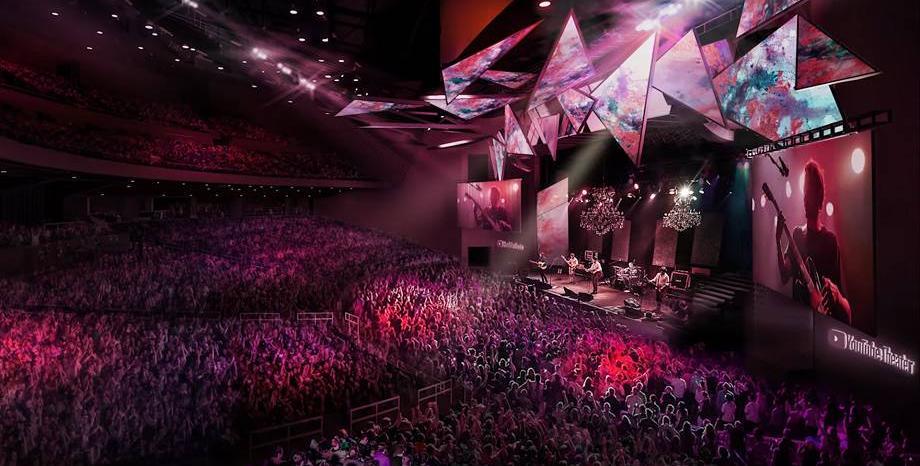 YouTube отваря концертна зала