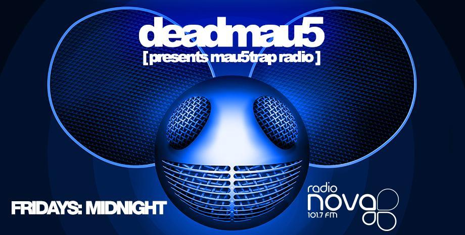 'Мau5trap' на deadmau5 по радио NOVA!