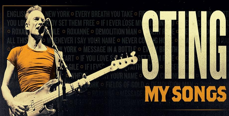 """Sting издава """"My Songs: Special Edition"""" и """"My Songs: Live"""" на 8 ноември"""