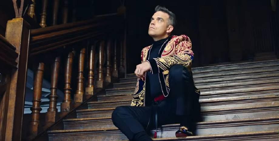 Robbie Williams с първи коледен албум