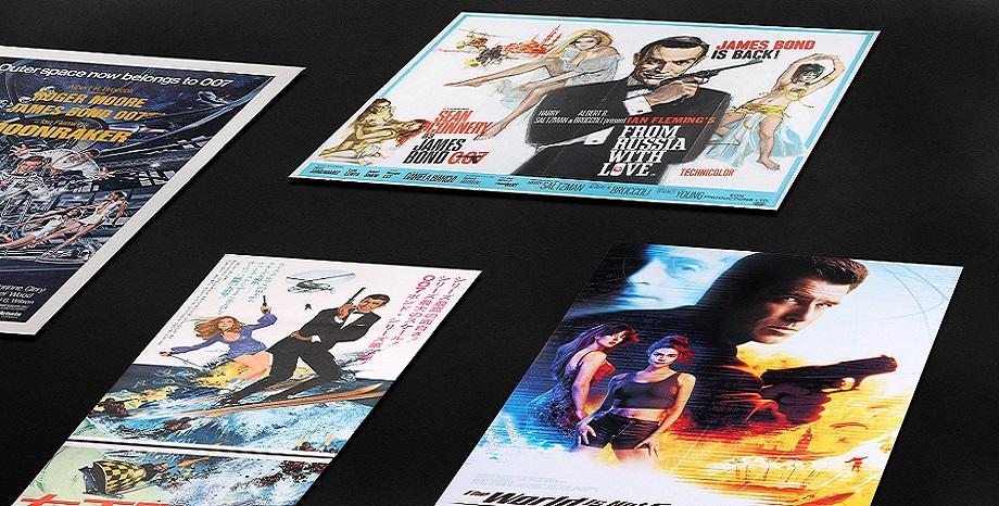 Над 460 редки плакати и реквизити от филми за James Bond отиват на търг