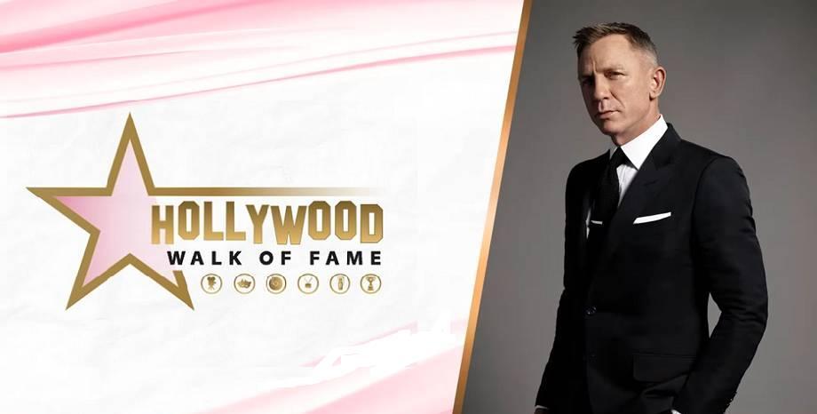 Даниел Крейг бе отличен със звезда на Алеята на славата в Холивуд