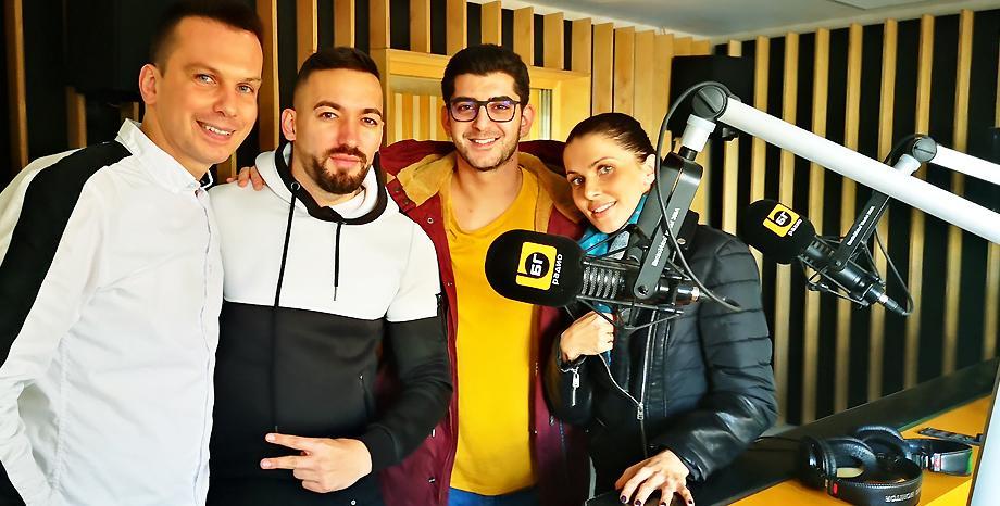 Дамян Попов и Мария Накова - Миа с нов сингъл в ефира на БГ Радио!