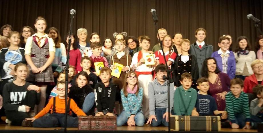 Ученици от българското училище в Ню Йорк - на гости във Виена