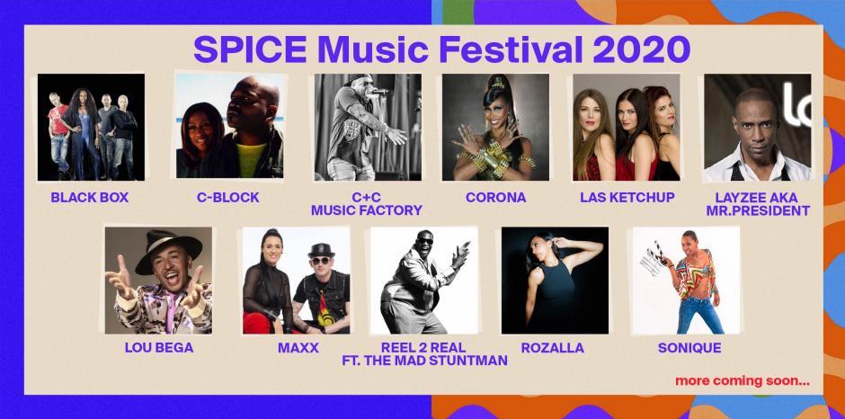 SPICE MUSIC FESTIVAL 2020 ще бъде 3 дни! Виж първите изпълнители!