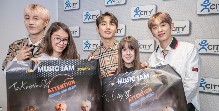 Фен среща с к-поп групата M.O.N.T :)