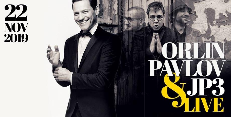 Орлин Павлов & JP3 с концерт на 22 ноември