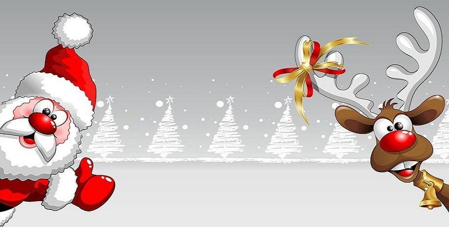 Дядо Коледа, джуджетата, елените и вълшебствата им...