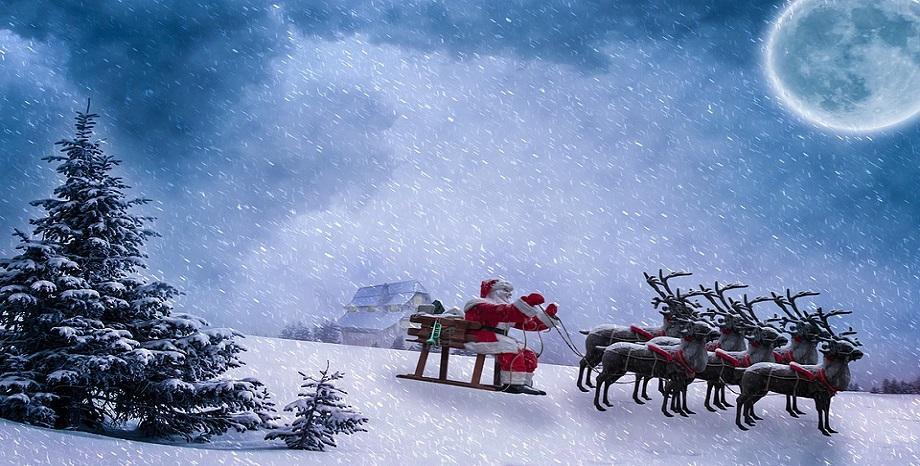 Дядо Коледа потегли с шейната по света