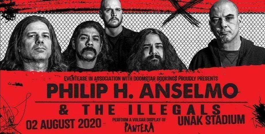 Philip H. Anselmo & The Illegals идват в Бългрия за ексклузивно шоу на 2 август 2020